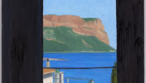 Cassis 2015, oil on panel, 5 x 7 in.